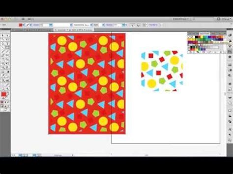 edit pattern swatches in illustrator cs5 illustrator cs5 tutorial learn pattern swatches in under