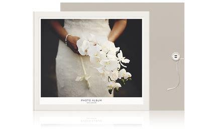 Wedding Album Groupon by Custom Wedding Photo Albums Milk Books Groupon
