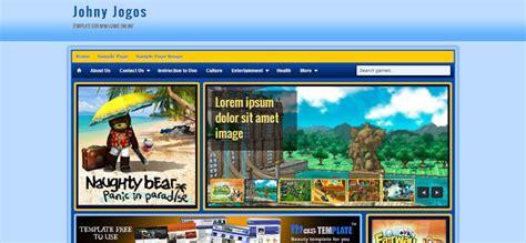 templates blogger jogos 201 s 243 escolher 10 templates para montar seu blog de games