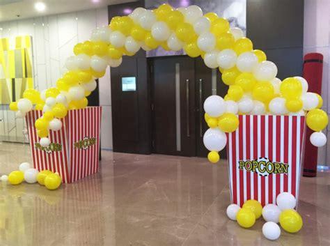 popcorn balloon arch partyyar