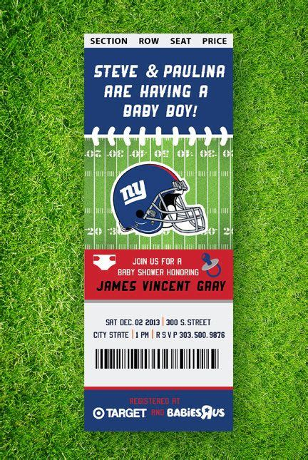 Football Themed Baby Shower Invitations by Printable Football Baby Shower Invitation By