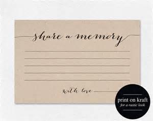memory template a memory card memory cards a memory printable