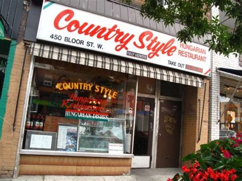 country style hungarian restaurant toronto midtown - Country Style Toronto