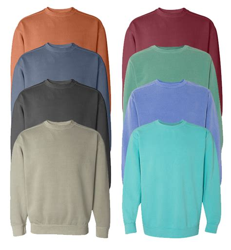 wholesale comfort colors wholesale comfort colors irregular adult crewneck