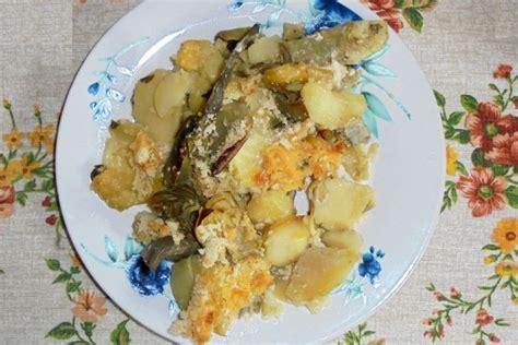 come cucinare pasta e carciofi sformato di carciofi e patate la ricetta facile e veloce