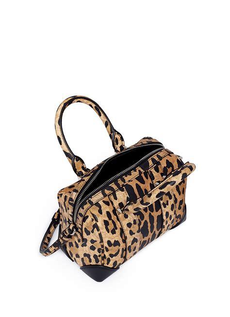 Lucretia Leopard lyst givenchy lucrezia micro leopard print leather bag