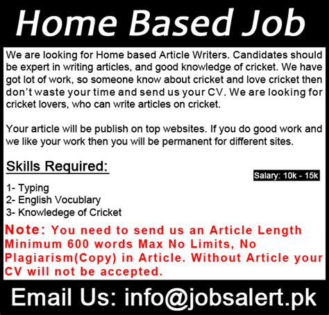 Free Online Work From Home Without Investment - free online work at home jobs without investment in pakistan