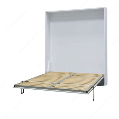 Wall Bed Frame Cielo Vertical Opening Mechanism With Concealed Leg Mechanism Richelieu Hardware