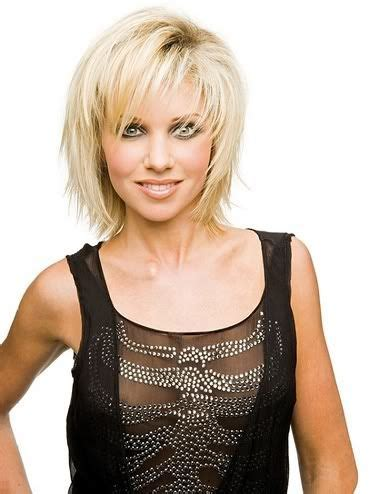 mid length crop hairstyles hairstyles trendy choppy bob short to medium length
