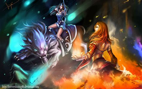 wallpaper hd dota 2 android dota 2 mirana wallpaper for android 187 gamers wallpaper 1080p