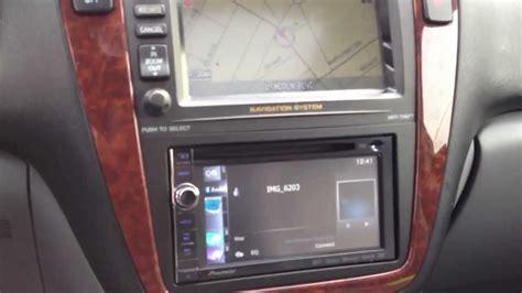 acura mdx pioneer navigation upgrade camera bluetooth