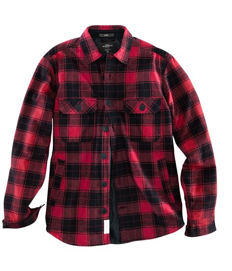 Flanel Flanello h m flannel shirt in black for lyst