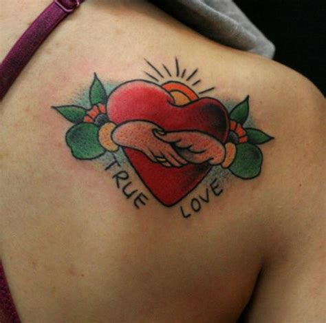 tattoo shoulder heart shoulder heart tattoo by sunrat tattoo