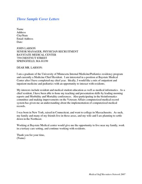 cover letter physician best photos of physician cover letter exles physician