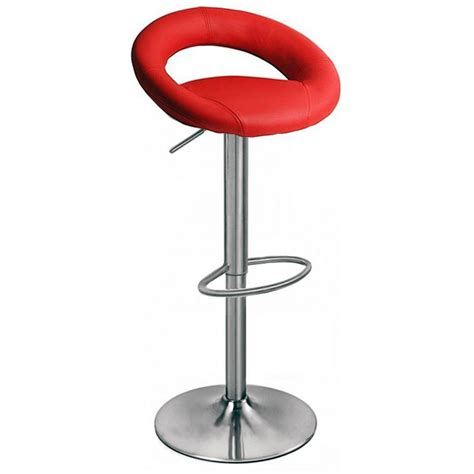 red kitchen bar stools sorrento kitchen brushed bar stool red size x 540mm x 540mm