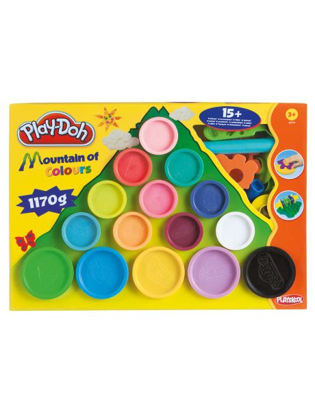 play doh colors playdoh mountain of colours 68504