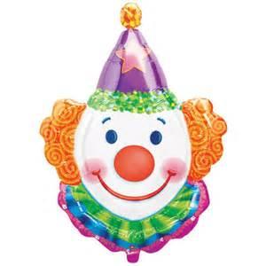 clown balloon supershape clown foil balloon 28 quot
