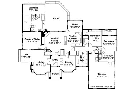 classic home floor plans classic house plans brentwood 30 007 associated designs