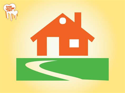 house icon design vector graphics freevector