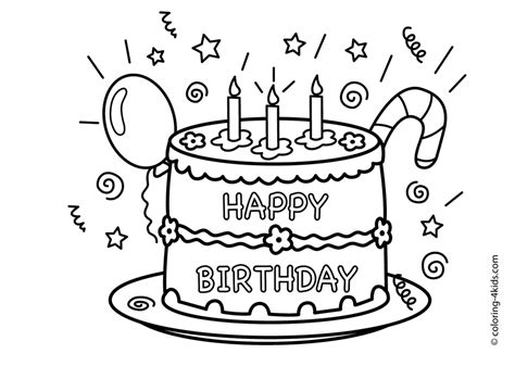 Happy Birthday Coloring Pages 2018 Dr Odd Happy Birthday Coloring Pages For