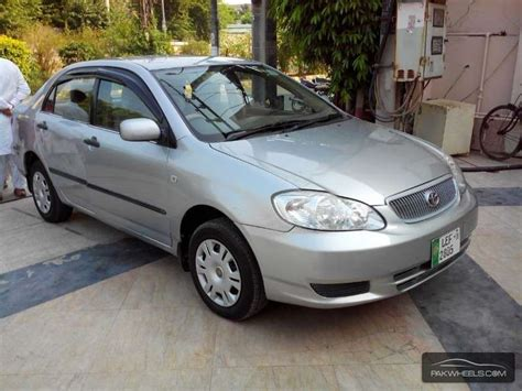 Toyota Corolla Tyres For Sale Used Toyota Corolla Gli 2008 Car For Sale In Lahore