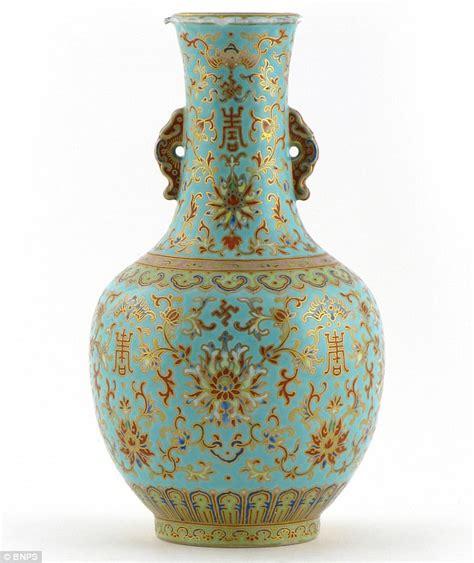 Qing Dynasty Vase by S Attempt To Fix Chip In Qing Vase