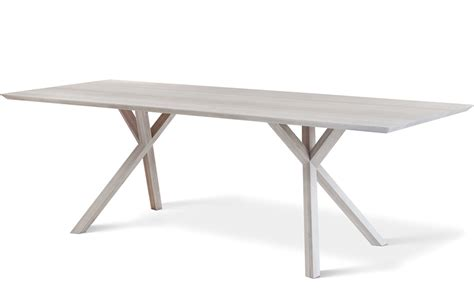 xy rectangular dining table hivemodern