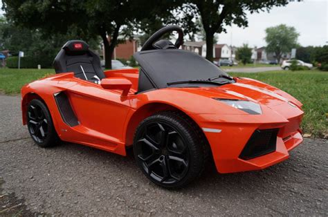 Lamborghini Kid Car by Lamborghini Lp700 Aventador 6v Electric Children S Battery