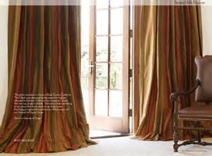 custom drapery los angeles striped silk custom drapery mediterranean curtains