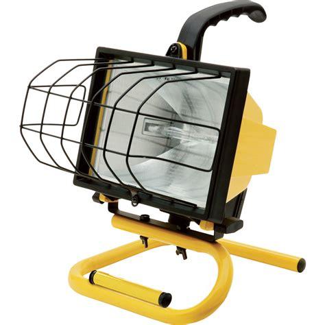 dewalt portable work light ironton halogen worklight 500 watts 8000 lumens