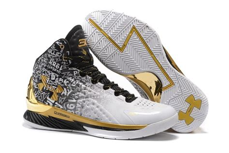 gold armour basketball shoes s armour stephen curry one mvp pack mid