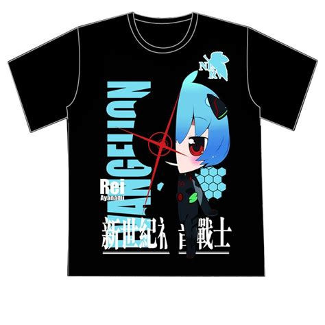 Kaos T Shirt Anime Ayanami Rei Neon Genesis Evangelion 01 rei shirts promotion shop for promotional rei shirts