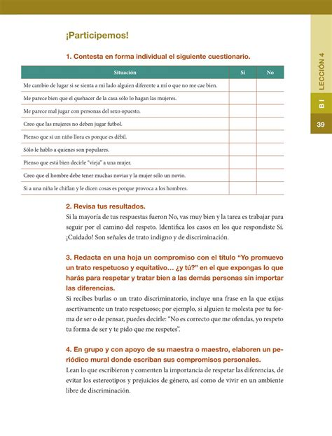 libro de formacion civica y etica 5 grado 2016 comtrstado formaci 243 n c 237 vica y 201 tica sexto grado 2016 2017 online