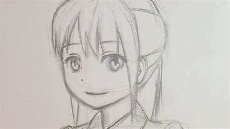 Drawing 3 4 Faces by 94 How To Draw Anime Faces Step By Step How To Draw An