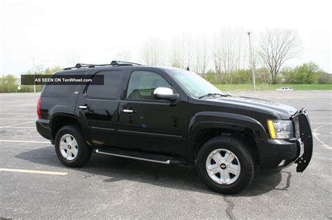 2007 chevy tahoe package chevy tahoe z71 package for