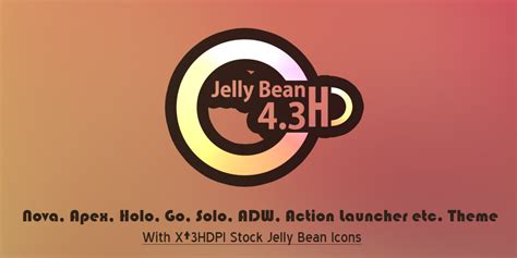 jelly bean apk jelly bean 4 3 hd theme v1 4 1 4 apk gratis android free