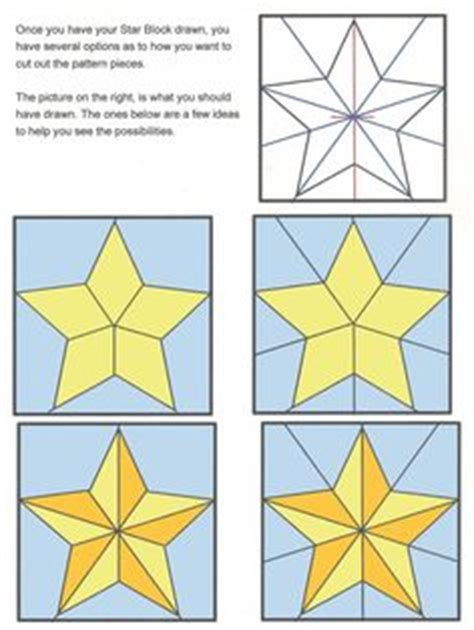 Five Pointed Quilt Pattern by Five Point Quilt Pattern Go 5 Point