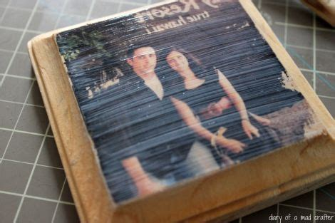 decoupage pictures onto wood transfer a photo onto wood diy decoupage