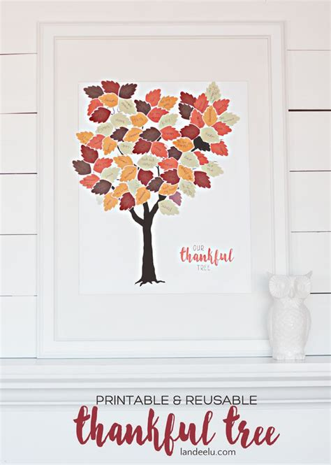 thankful tree craft for thankful tree printable thankful tree thankful and free
