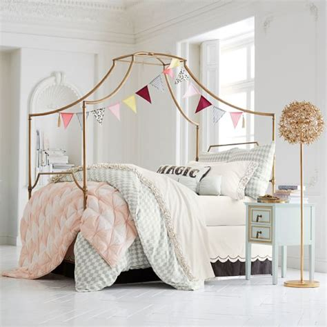 teen canopy bed maison canopy bed pbteen