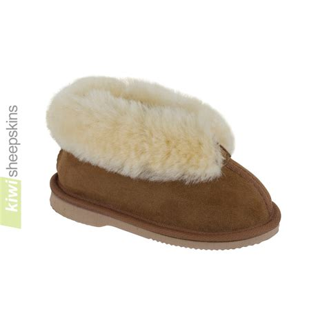 toddler sheepskin slippers bootie style slippers sheepskin slippers