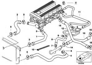 original parts for e36 318ti m44 compact engine cooling system water hoses estore central