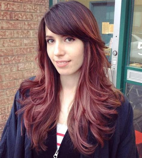 haircuts for long layered hair with bangs 50 cute long layered haircuts with bangs 2018