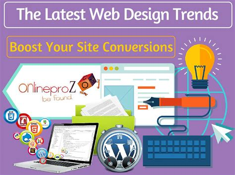 web design trends magazine layout the latest web design trends in 2016 by onlineproz issuu