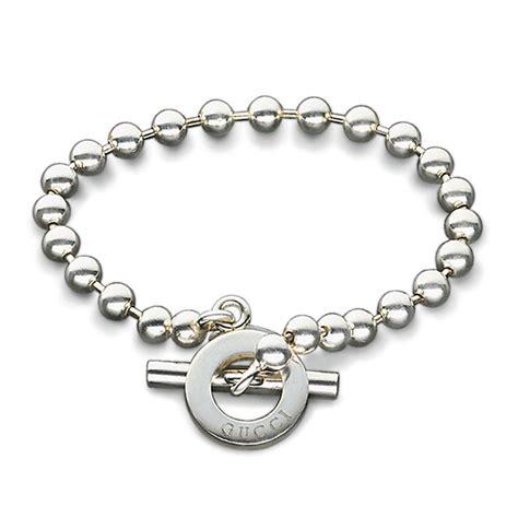 gucci link bracelet 18cm ernest jones