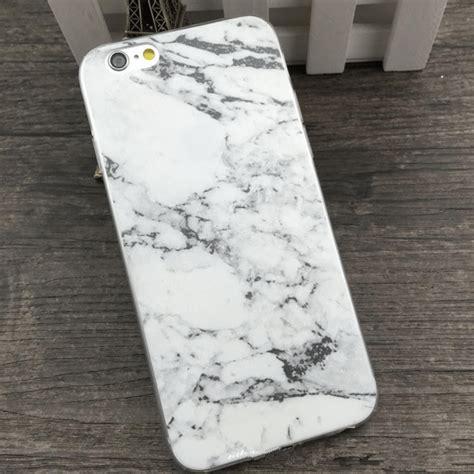 Marble Texture Marmer 083 Iphone Iphone 6 5s Oppo F1s Redmi skal iphone 6 6s marmor marble marmorskal slimmat skydd vit