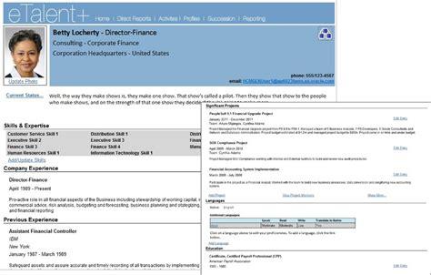 talent profile template talent profile template 28 images leveraging workforce