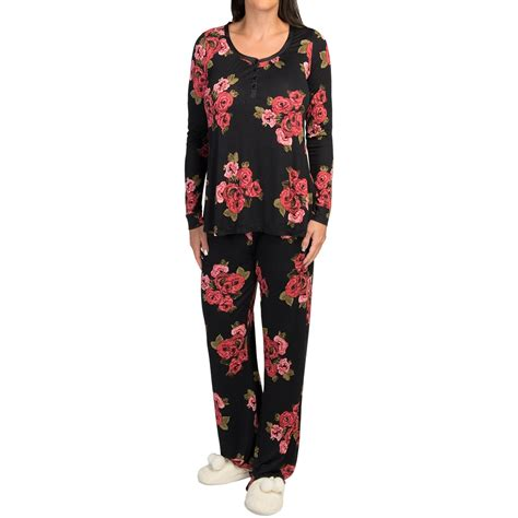 Pajamas Rayon midnight by carole hochman rayon pajamas for 9640a save 84
