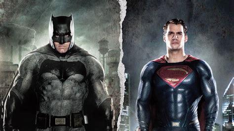 Batman Vs Superman Superman henry cavill ben affleck and david goyer talk batman v