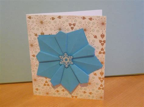 Origami Card Designs - ten ideas for origami greeting cards